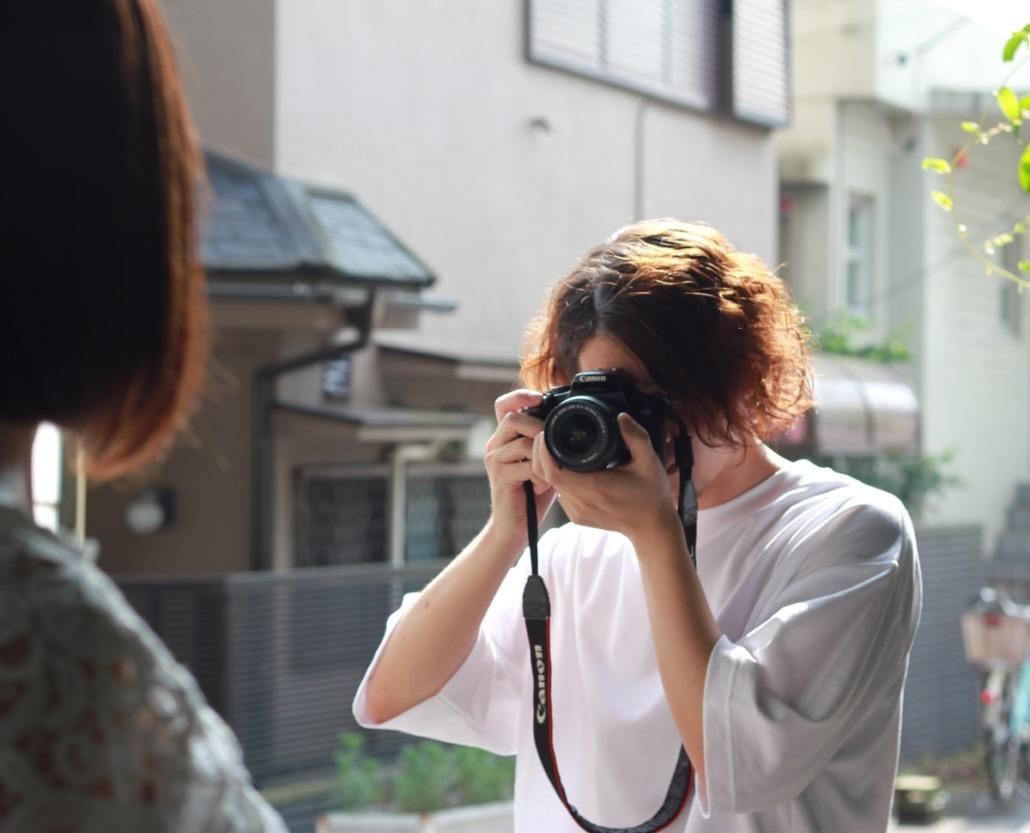 親身なカメラマン